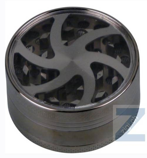 "Grinder Metall ""Wheel"" 3 tlg. anthrazit"