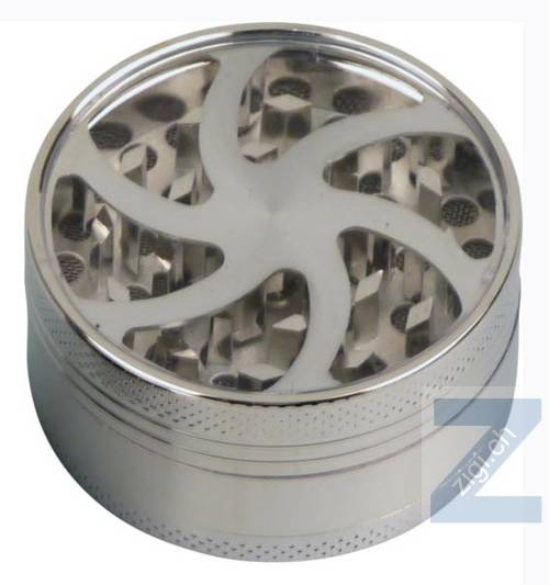 "Grinder Metall ""Wheel"" 3 tlg. chrom"