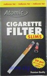 ATOMIC SLIMS Microfilter 20 Stk. + 5  Adapter für SUPERSLIM.