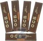 OCB Slim Virgin Paper large, 5 x  32 Blatt 10.8 cm, Fr. 8.00