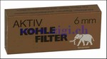 Aktiv Kohle Filter, 6 mm