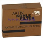 Aktiv Kohle Filter, 9 mm