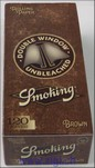 Zigi-Papier Smoking, BROWN small, 25er Karton