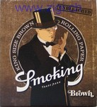 Zigi-Papier Smoking Brown, 50er Karton