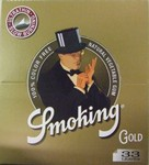 Zigi-Papier Smoking King Size GOLD, 50er Karton