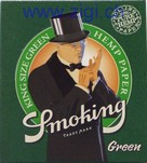 Zigi-Papier Smoking, King Size Green, 50er Karton