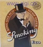 Zigi-Papier Smoking Eco, 50er Karton