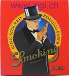 Zigi-Papier Smoking RED, 50er Karton
